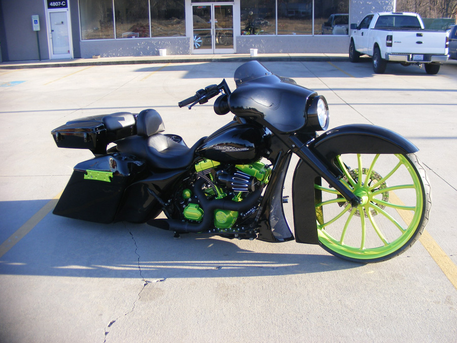 Brandon S 2012 Street Glide Custom Cycles Ltd
