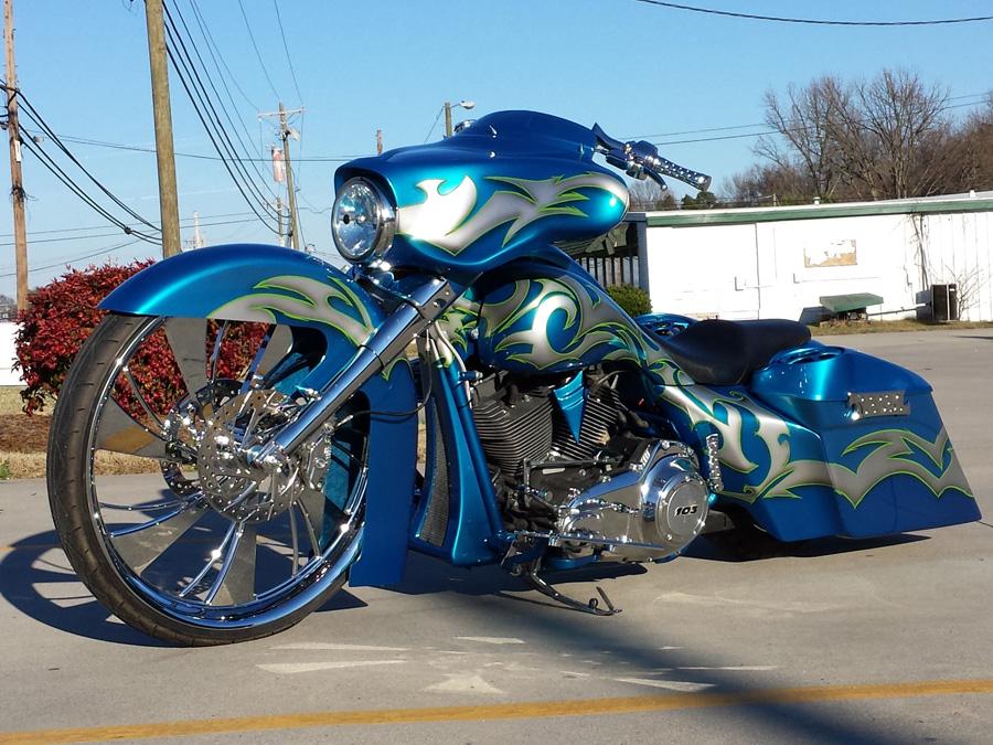Texas Blue 2012 Street Glide