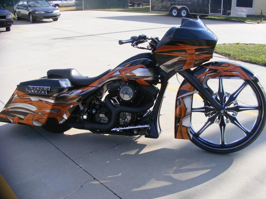Derek's Black and Orange 30