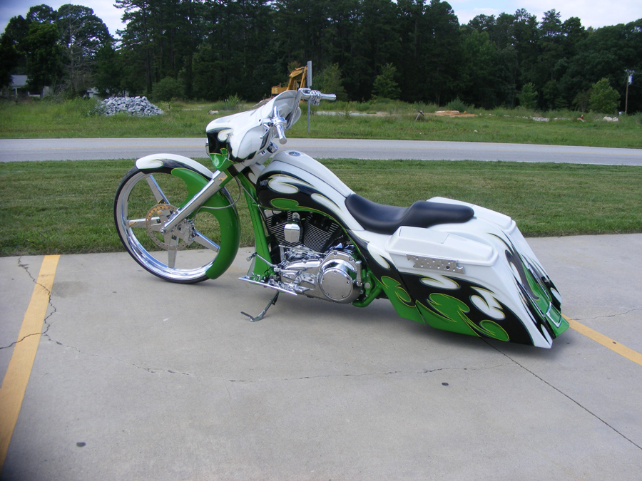 Green and White 30