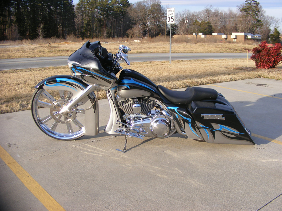 Muhammad S 30 Quot Road Glide Custom Cycles Ltd