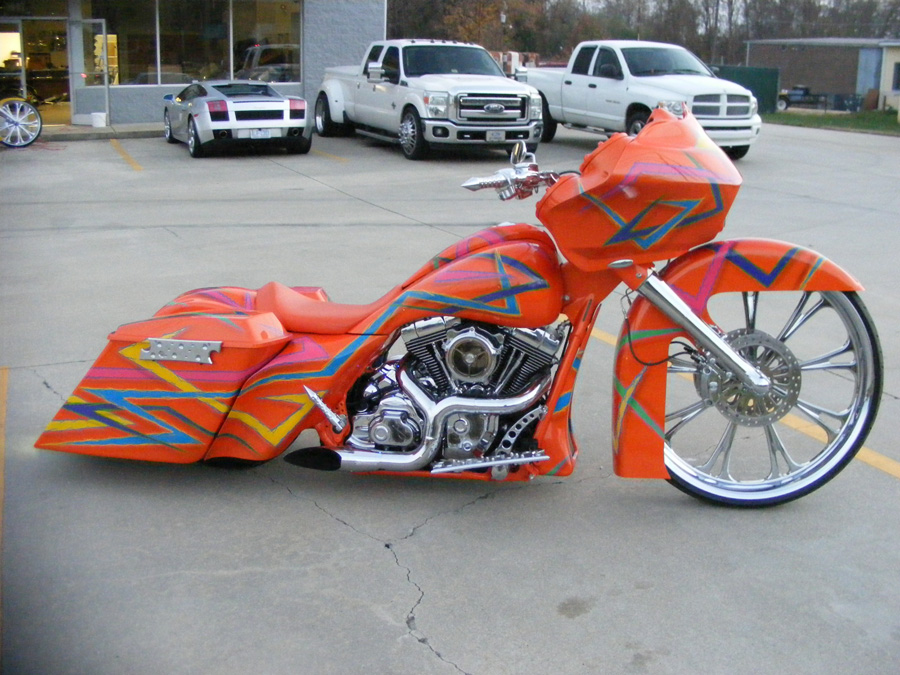 Andrew's Orange 2012 Road Glide