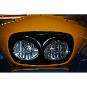 Pissed Off Headlight Bezel