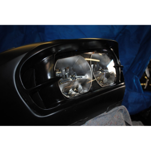 In Your Face 2015 Road Glide Headlight Bezel