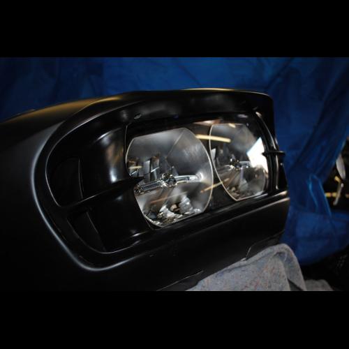In Your Face 2015 Road Glide Headlight Bezel
