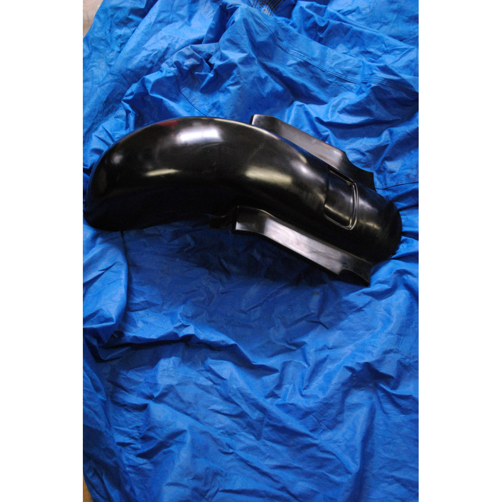 Game Changer Smooth Rear Fender For 1998-2008