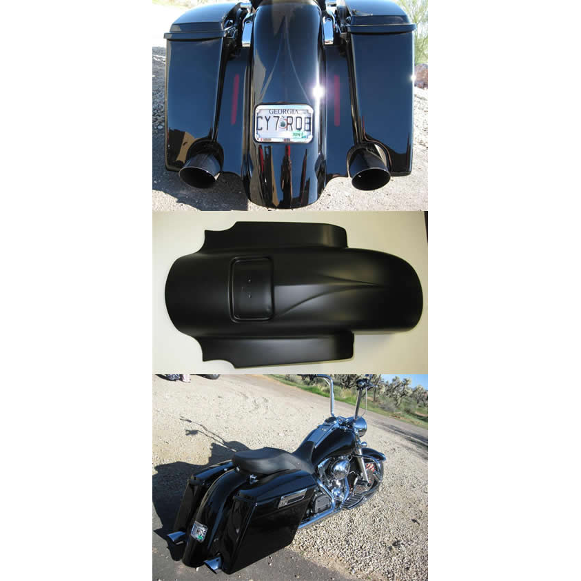 Accent Rear Fender WITH CUTOUTS 2009 - 2013