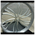 Chopper front wheel