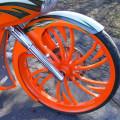 Chopper front wheel 3