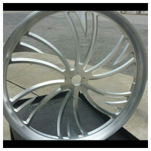 Chopper front wheel