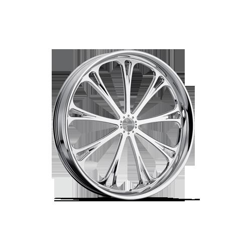 Dallas Chrome Front Wheel